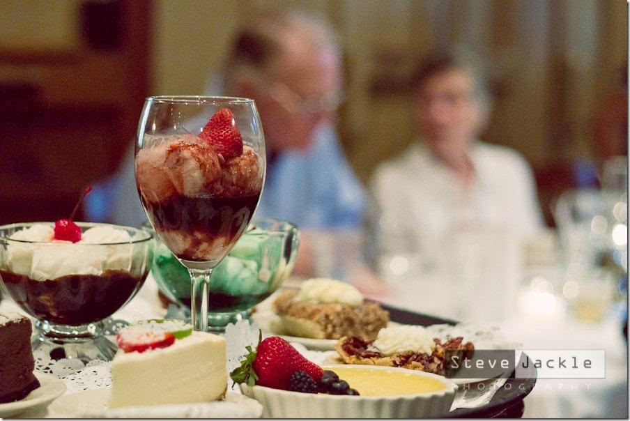 Angus Barn dessert tray